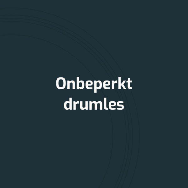 Onbeperkt drumles van Online Drumles